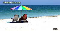 Relaxing at the Beach of Captiva Island