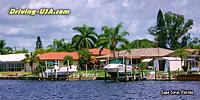 Waterfront Houses at Cape Coral